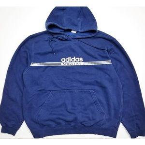 Vintage Adidas Athletics Navy Blue Hoodie